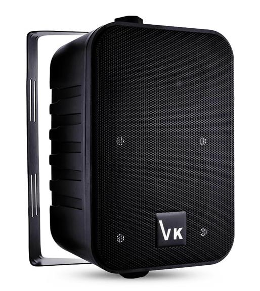 """Ηχείο VOICE KRAFT 1050-BL 4"""", 2 δρόμων, bass reflex, 110W, μαύρο"""