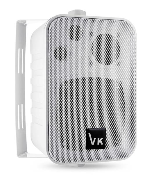 """Ηχείο VOICE KRAFT 1050-WH 4"""", 2 δρόμων, bass reflex, 110W, λευκό"""