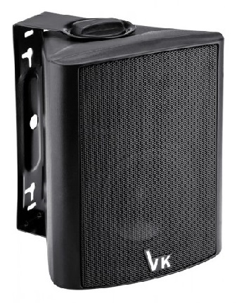 """Ηχείο VOICE KRAFT DS-501 4"""", 2 δρόμων, bass reflex, 20W 8Ohm, μαύρο"""