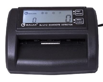 BAIJIA Μίνι αυτόματος ανιχνευτής & καταμετρητής χαρτονομισμάτων BJ-212