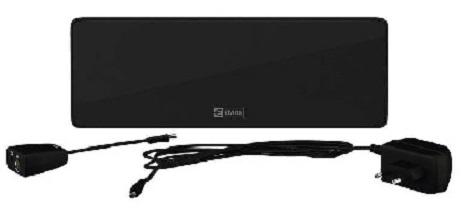 Εσωτερική κεραία EMOS HD-101N, DVB-T2, Full HD, LTE, 44dBi