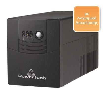 UPS Line Interactive POWERTECH PT-1500, 1500VA, 900W