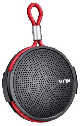Φορητό Ηχείο VTIN VNBH221AB, BT, IPX5, 4W RMS, 1000mAh, μαύρο-κόκκινο