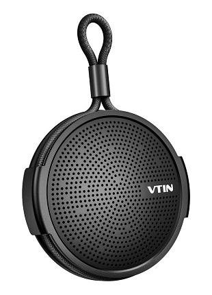 Φορητό Ηχείο VTIN VNBH221AC, bluetooth, IPX5, 4W RMS, 1000mAh, μαύρο